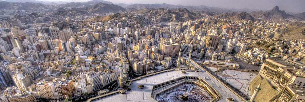 Mecca is the birthplace of Prophet Muhammad.